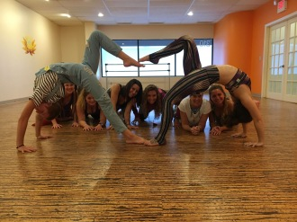 Student at internship at Honest Yoga. Check out her social media posts.